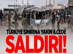 Türkiye sınırındaki ilçede saldırı!