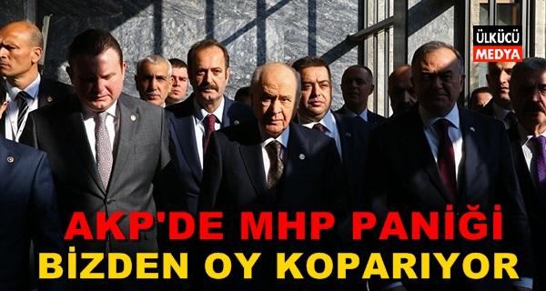 AKP'de MHP paniği! Bizden oy koparıyor
