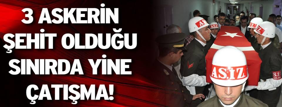 PKK'nın 3 askeri şehit ettiği yerde yeniden çatışma çıktı