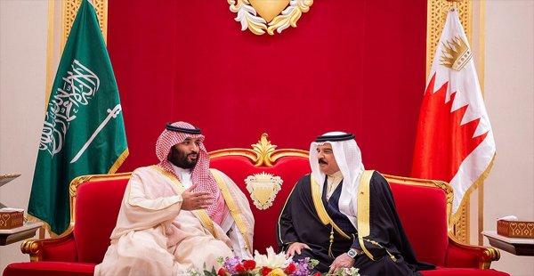 Suudi Veliaht Prens Selman Bahreyn'de