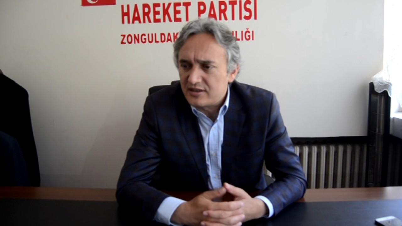MHP Zonguldak Belediye Başkan Adayından ilk açıklama