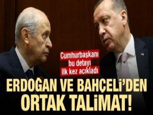 Erdoğan'dan MHP ve JEST açıklaması!