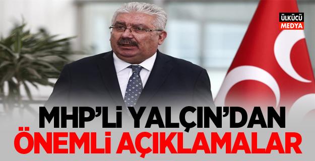 MHP'li Semih Yalçın'dan flaş açıklama