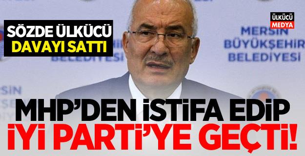 Sözde Ülkücü Burhanettin Kocamaz İYİ Parti'ye geçti