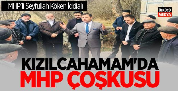 KIZILCAHAMAM'DA MHP ÇOŞKUSU