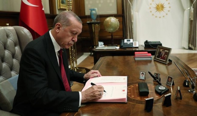 Cumhurbaşkanı Erdoğan'dan kritik kurumlara atama!