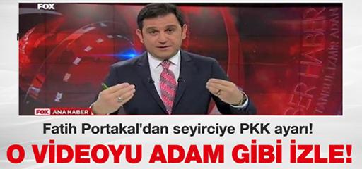 FATİH PORTAKAL İSYAN ETTİ !