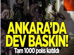 Ankara'da Büyük Narkotik Baskını!