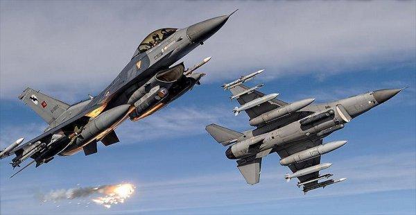 Irak'ın Kuzeyine 7 Terörist Etkisiz Hale Getirildi