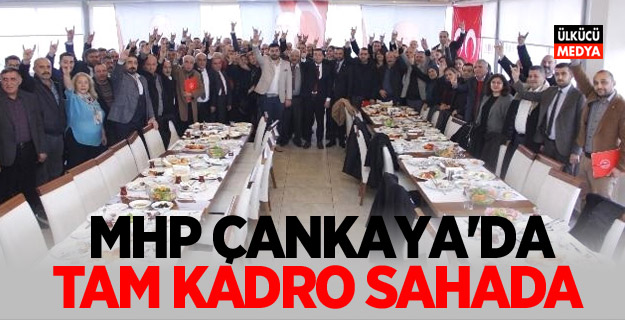 MHP Çankaya'da Tam Kadro Sahada