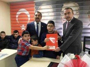 Ankara'nın tek Engelli Belediye Meclis Üyesi  aday adayı oldu.