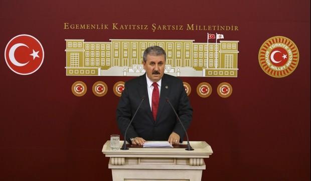 Destici: Türk-Kürt savaşı çıkarmaya çalışıyorlar