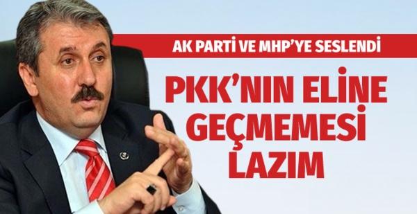 AK Parti ve MHP'ye seslendi: PKK'nın eline geçmemesi lazım