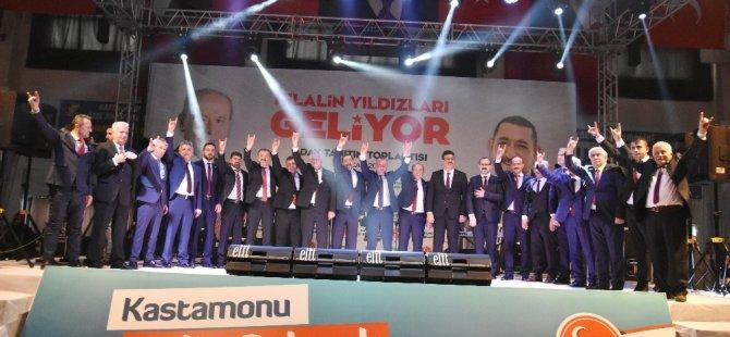 MHP Kastamonu Belediye Başkan Adaylarını Tanıttı