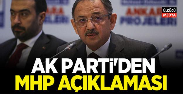 AK Parti'den 'MHP' açıklaması