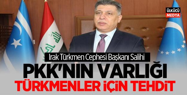 Eşret Salihi: PKK'nın varlığı Türkmenler için tehdit