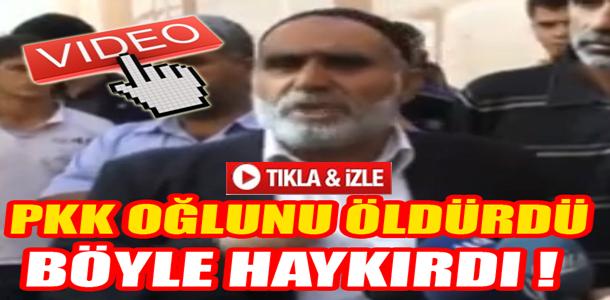 PKK'NIN ALÇAKLIĞINA BÖYLE SİTEM ETTİ !