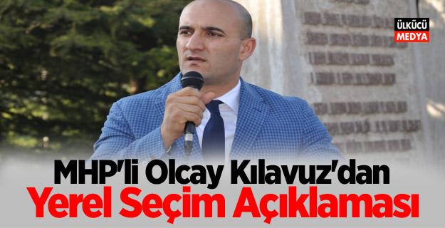 MHP'li Olcay Kılavuz'dan Yerel Seçim Açıklaması