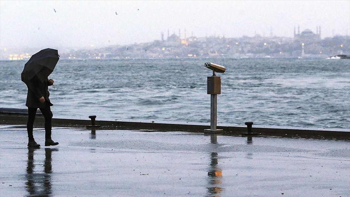 Marmara Soğuk Ve Yağışlı Havanın Etkisine Giriyor