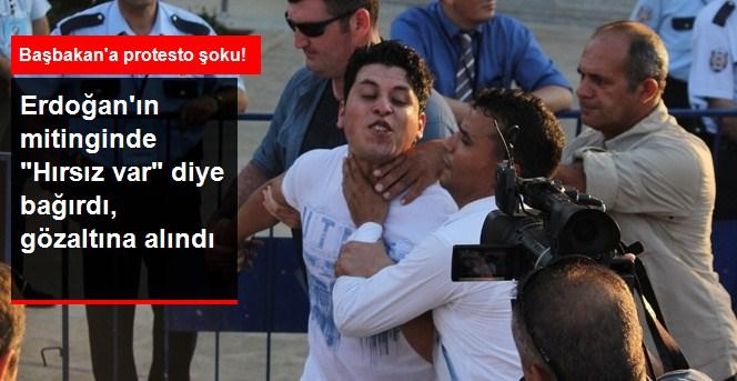 Erdoğan'a Adana'da 'HIRSIZ VAR' protestosu !
