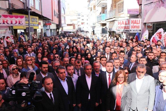 Nevşehir Ülkü Ocakları Binası Açılışı Yapıldı