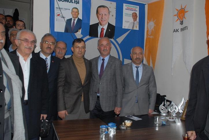 MHP'den AK Parti seçim irtibat bürolarına ziyaret