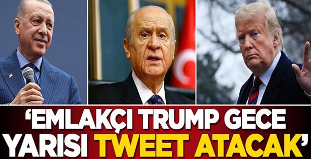 MHP'li Cemal Enginyurt: Emlakçı Trump gece yarısı tweet atacak