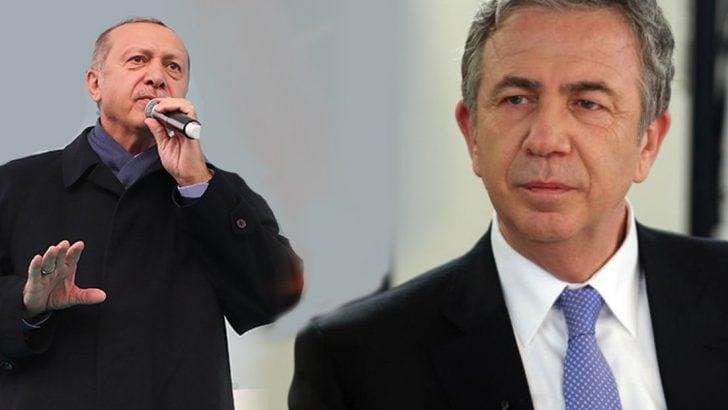 Erdoğan'dan Mansur Yavaş Açıklaması