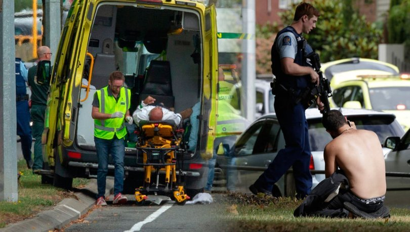 Yeni Zelanda'da camiye saldırı: 40 ölü