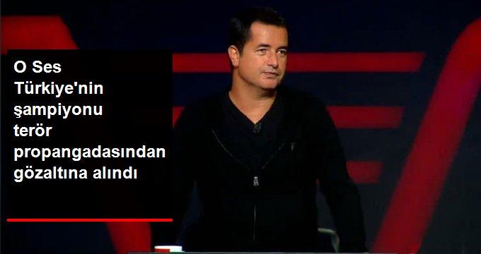 PKK propagandası yaptığı gerekçesiyle gözaltına alındı
