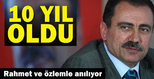 Muhsin Yazıcıoğlu vefatının 10'uncu yılında anılıyor