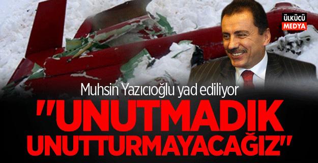 Muhsin Yazıcıoğlu vefat yıldönümünde yad ediliyor
