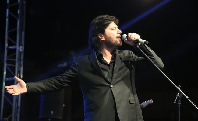 Ahmet Şafak Pınarbaşı'da konser verdi