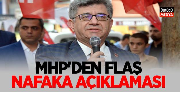 MHP'den Flaş nafaka açıklaması