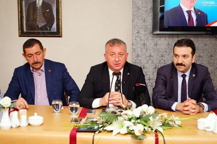 """Başkan Aydın, """"Halkımız, Cumhur İttifakına Sahip Çıkmıştır"""""""
