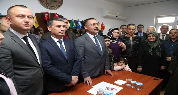 MHP Gölbaşı'nda Serdar Tekin dönemi Başladı