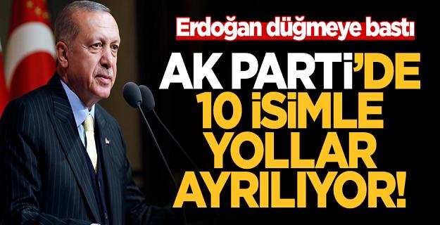 AK Parti'de seçim sonrası on isimle yollar ayrılıyor