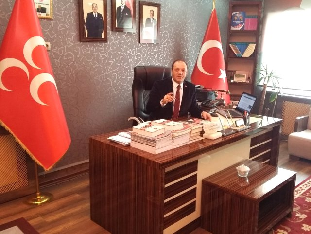 MHP Erzurum İl Başkanı Karataş'tan Berat Kandili Mesajı