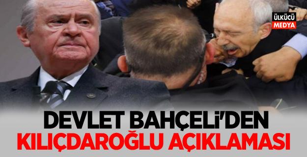 Devlet Bahçeli'den Kılıçdaroğlu Açıklaması