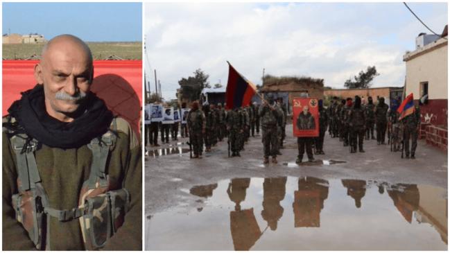 Türkiye'ye karşı YPG içinde Ermeni taburu kuruldu!