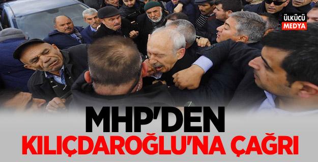 MHP'den Kılıçdaroğlu'na çağrı!
