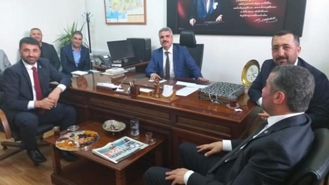 Malatya'da MHP İl Başkanı Bülent Avşar'dan hayırlı olsun ziyareti