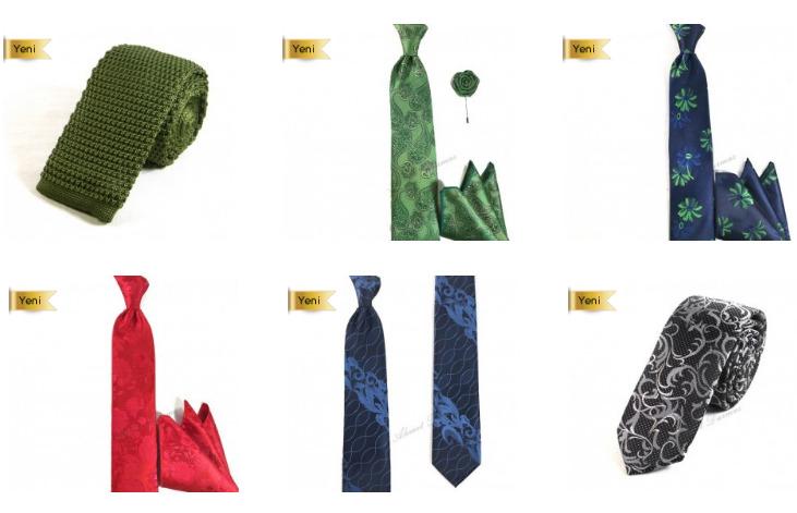 Yeni Sezon Kravatlarda Uygun Fiyatlar