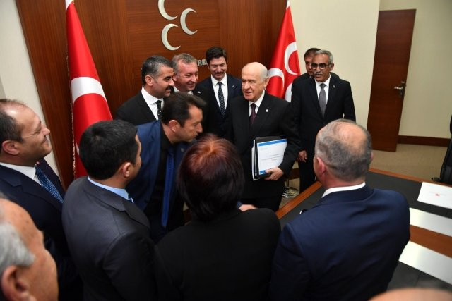 MHP Malatya İl Başkanı Avşar'dan Ankara'ya Ziyaret