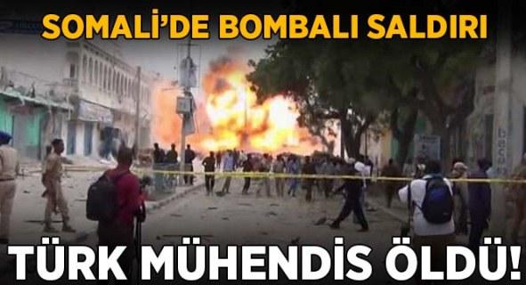 Somali'de Türk mühendis öldürüldü.