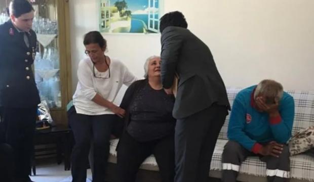 Şehit evinde acı tesadüf! Aldığı haberle yıkıldı