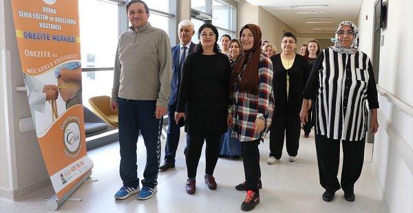 Obezite Merkezinde Kilolarından Kurtuluyorlar