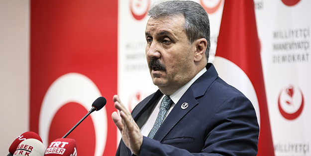 """Mustafa Destici'den tepki: """"Apo'nun avukatlarıyla görüşmesi demek, Kandil'le,ile görüşmesi demektir."""