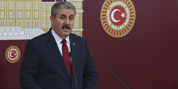 BBP Lideri Mustafa Destici'den yeni askerlik sistemine ilişkin açıklama