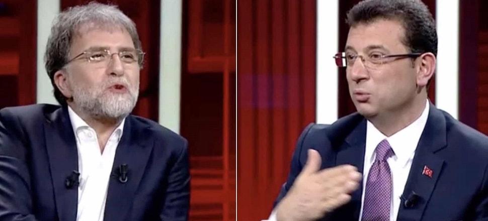 Ahmet Hakan'dan İmamoğlu yayını için açıklama!
